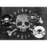 BACKYARD BABIES - PINS & STICKER PACK